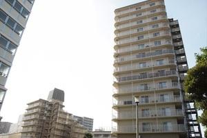 汐浜サンハイツ(1〜3号棟)の外観