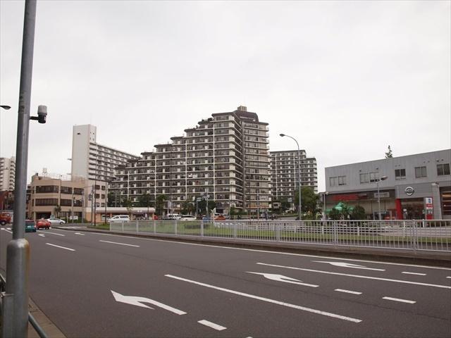 日商岩井亀戸マンションの外観