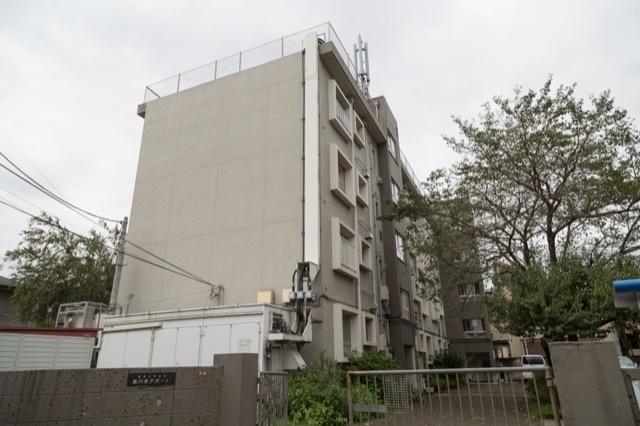 産業住宅協会高円寺アパートA棟の外観