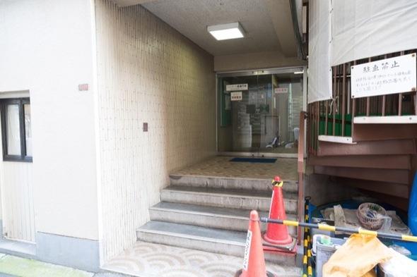 シャンボール南高円寺のエントランス