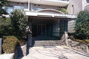 パークハウス多摩川南1番館のエントランス