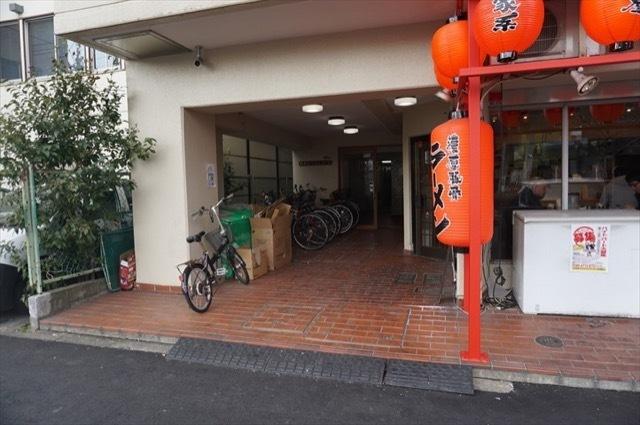 西横浜クリスコーポのエントランス