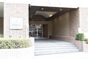 石神井公園ピアレスザタワーのエントランス