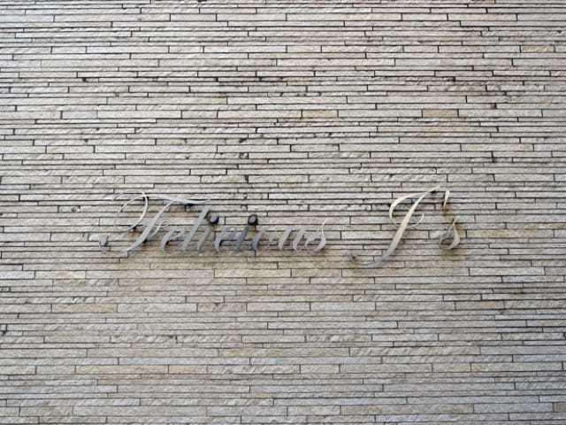 FELICIOUSJ's(フェリシアスジェイズ)の看板