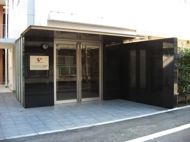ユナイテッドグロー高田馬場のエントランス