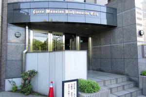 ライオンズマンション西早稲田シティのエントランス