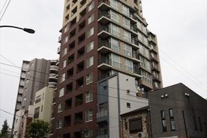 三田ガーデンハウスの外観