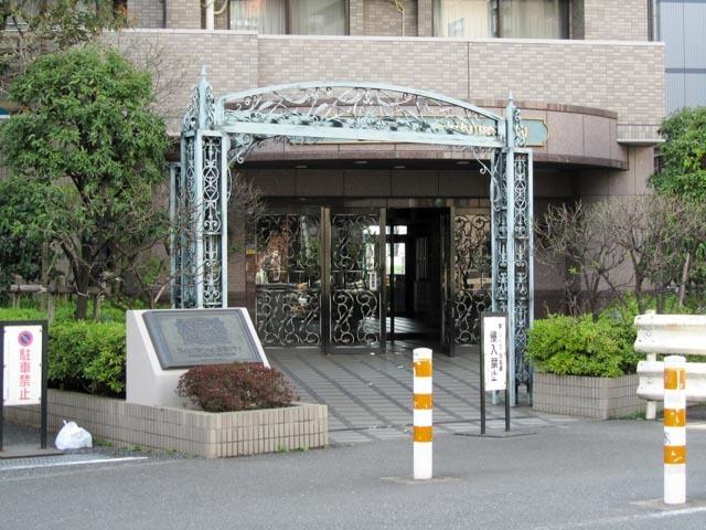 ライオンズマンション渋谷シティのエントランス