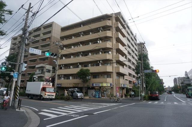 タウンシップ川崎の外観