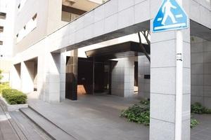シティハウス千代田水道橋ステーションコートのエントランス