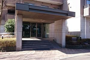 パークハウス多摩川北2番館のエントランス