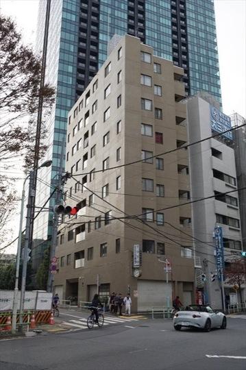 タウンコート三田の外観