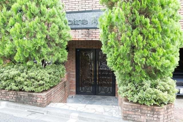 ロアール高円寺のエントランス