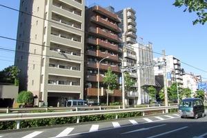 けやきハウス早稲田の外観