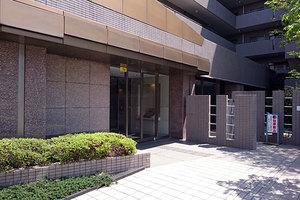 多摩川南パークハウスのエントランス