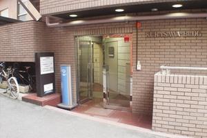 倉沢ビルのエントランス