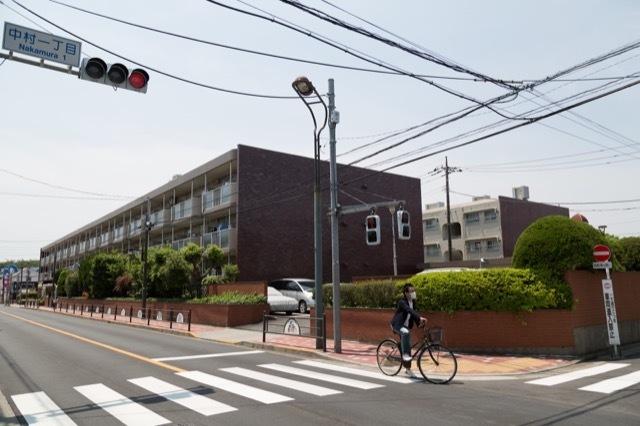 中村グリーンマンション(1号・2号)の外観