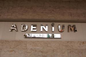 アデニウム北千住の看板