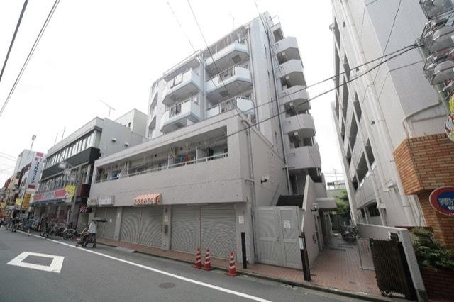 グリーンキャピタル旗ノ台の外観