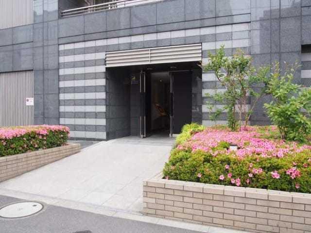 レーベンシティオ上野入谷タワーフォルムのエントランス