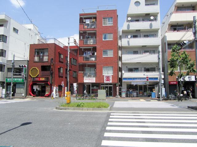 ワセダ山崎マンションの外観