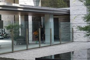 赤坂タワーレジデンストップオブザヒルのエントランス