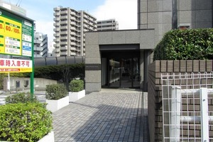 渋谷プロパティータワーのエントランス