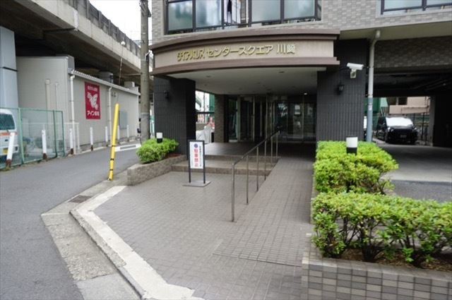 ダイアパレスセンタースクエア川崎のエントランス
