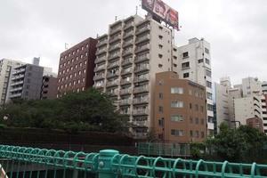 築地武蔵野マンションの外観