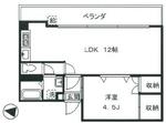 新高円寺ロイヤルマンションの間取り