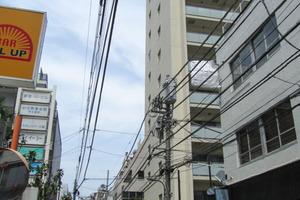 ブランズ西新宿の外観