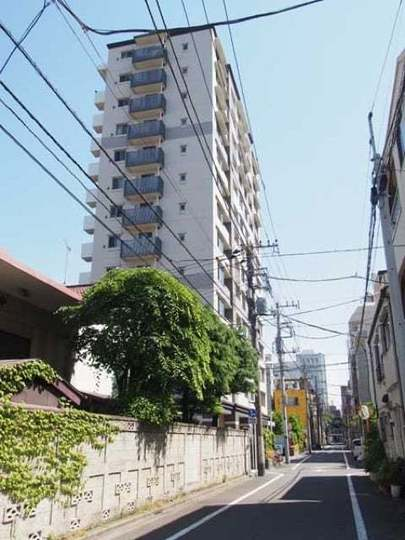 レクセルマンション上野入谷の外観