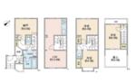 フュージョンスペース東六郷【メゾネットタイプ】の間取り