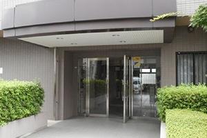 コスモ錦糸町グランステージのエントランス