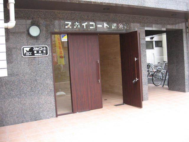スカイコート錦糸町のエントランス