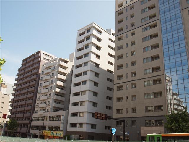 パークホームズ錦糸町ホワイトスクエアの外観