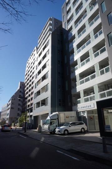 グレイス新横浜アクシスの外観