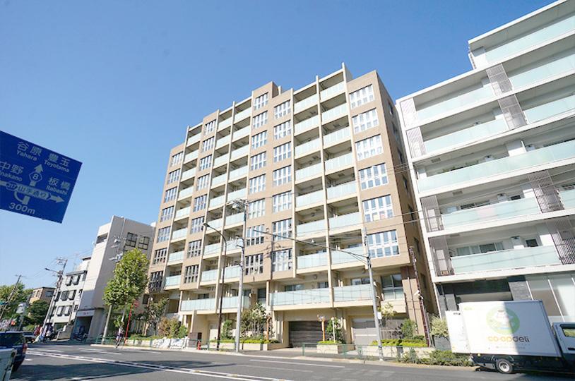 クラッシィハウス新宿中落合の外観