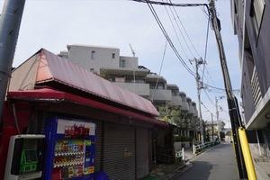 千川シティハウスの外観