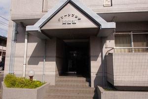 グリーンプラザ東綾瀬のエントランス