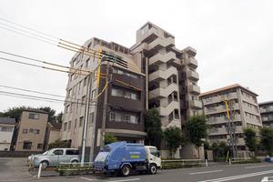 新高島平ガーデンハウスの外観