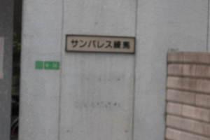 サンパレス練馬の看板
