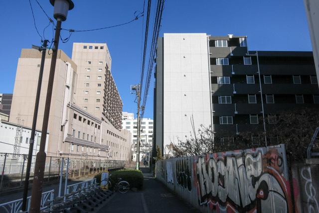 プレールドゥーク渋谷幡ヶ谷の外観