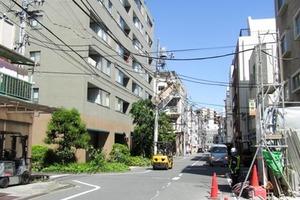 早稲田鶴巻町パークホームズの外観