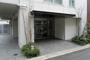 ブランズ渋谷神山町のエントランス