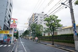 日商岩井宇喜田町マンションの外観