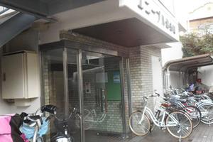 ユニーブル錦糸町のエントランス