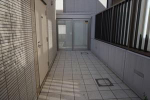 オープンレジデンス赤坂テラスのエントランス