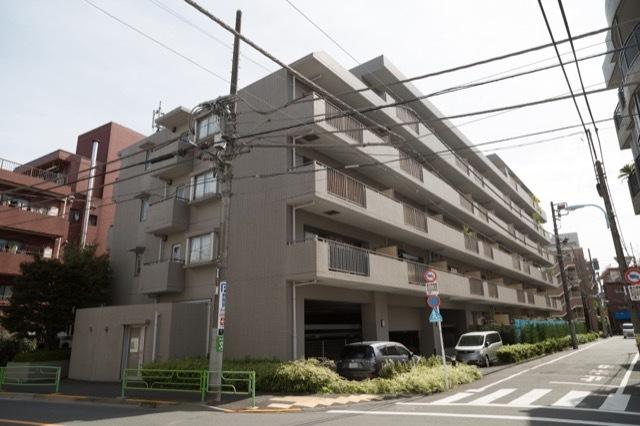 中野富士見町パークホームズの外観