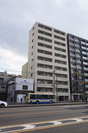 リクレイシア西横浜の外観
